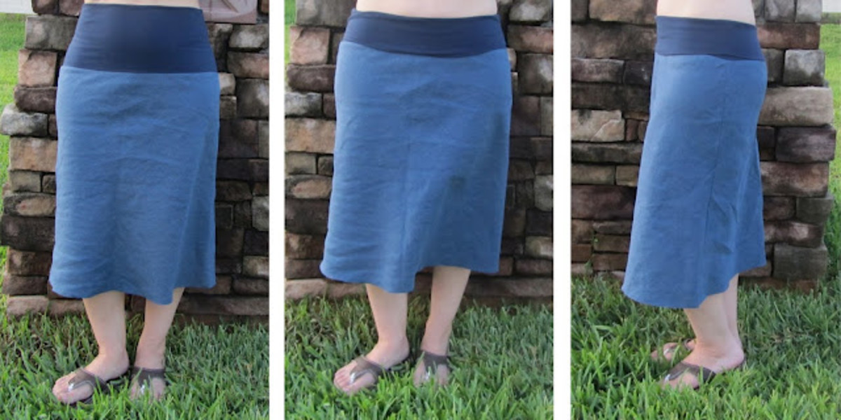Bias Skirt from Crafterhours