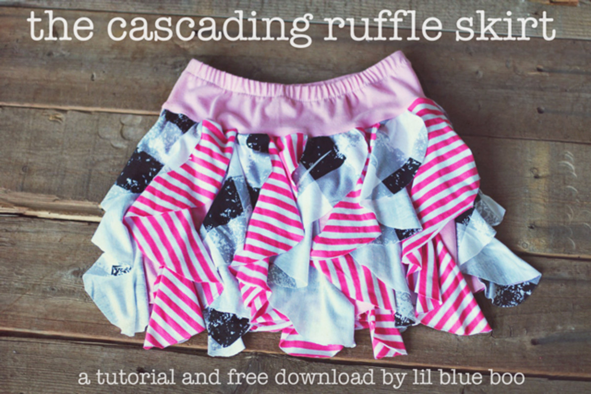 Cascadin Ruffle Skirt from Lil Bue Boo
