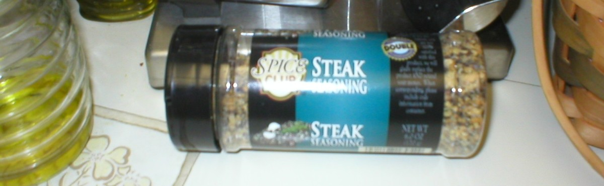 Spice Club Steak Seasoning available at ALDI'S