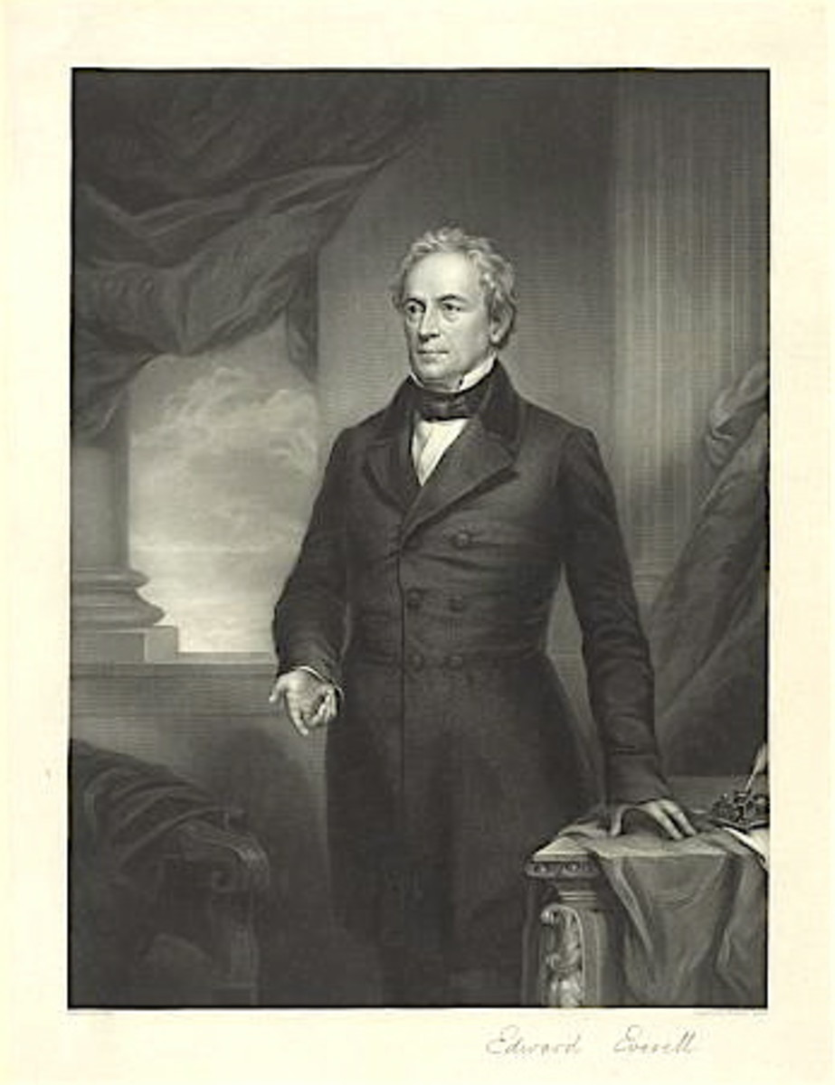 Speaker of the day, Edward Everett.