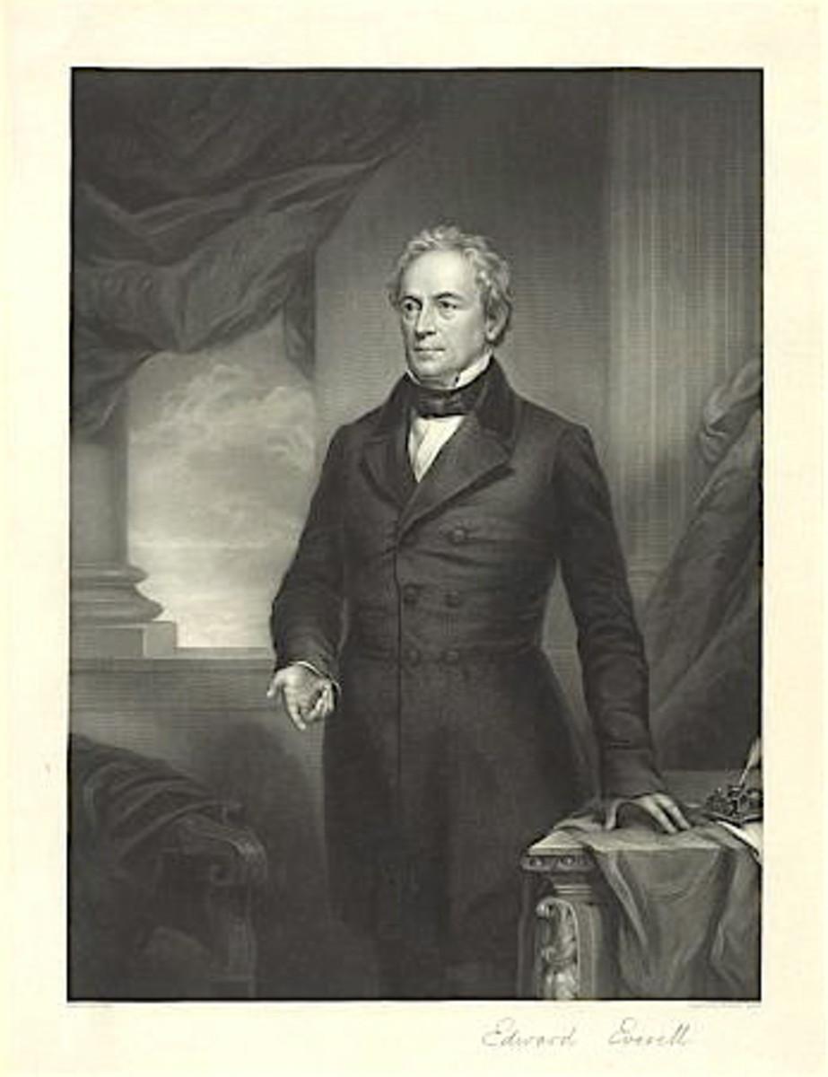 Speaker of the day, Edward Everett.