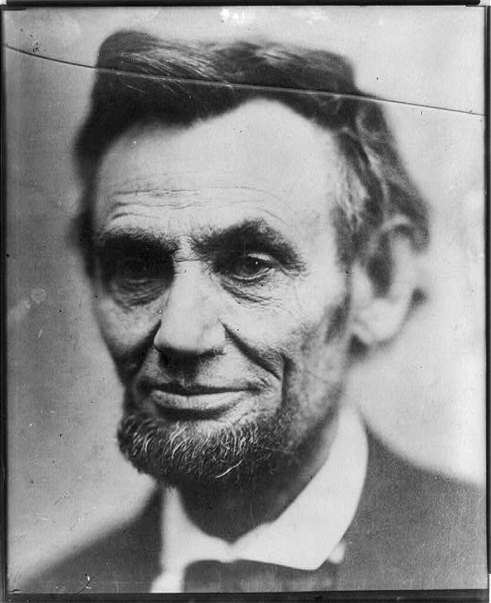 One of the last photos taken of Lincoln.