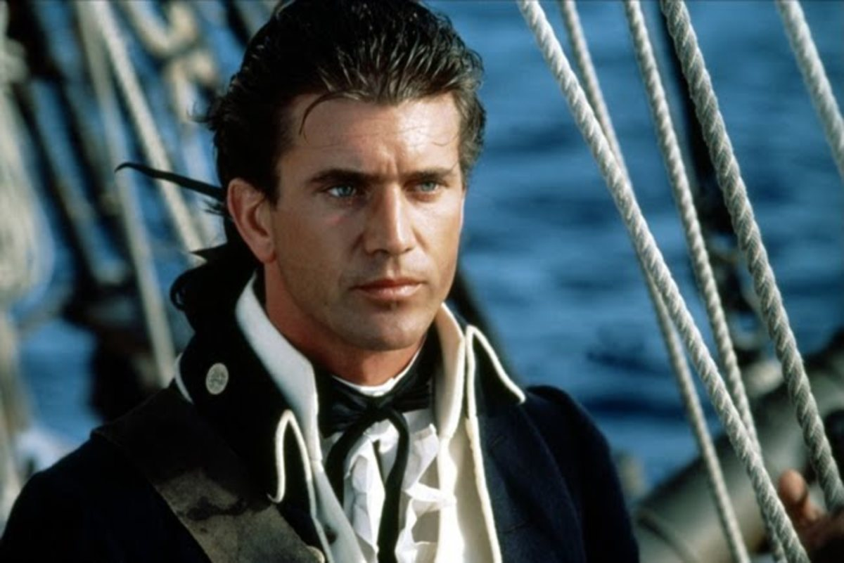 "Mel Gibson as Fletcher Christian  in ""The Bounty"""
