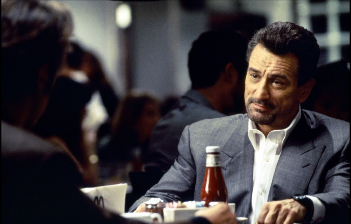"Robert DeNiro (opposite Al Pacino) in ""Heat"""