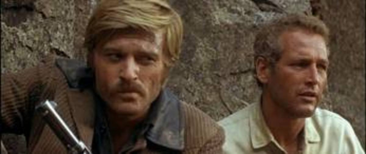 "Robert Redford and Paul Newman in ""Butch Cassidy & the Sundance Kid"""