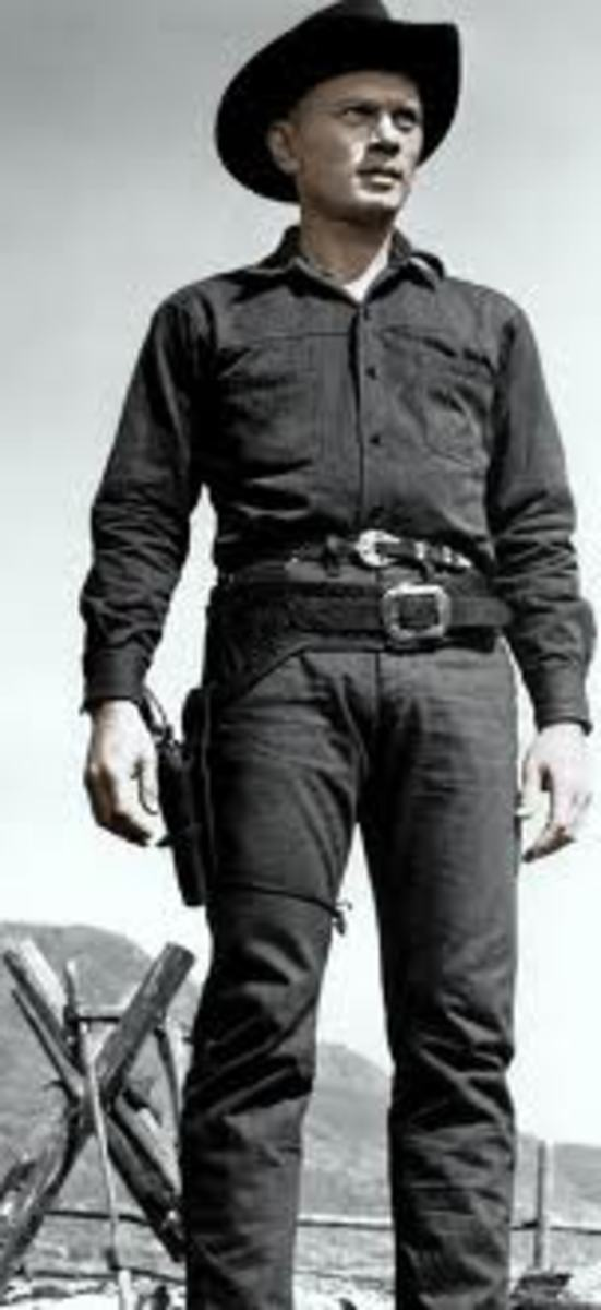 Yule Brenner (Chris) as One of the Magnificent Seven