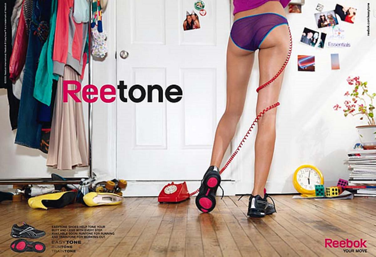 Reebok Easy Tone Ad Campaign