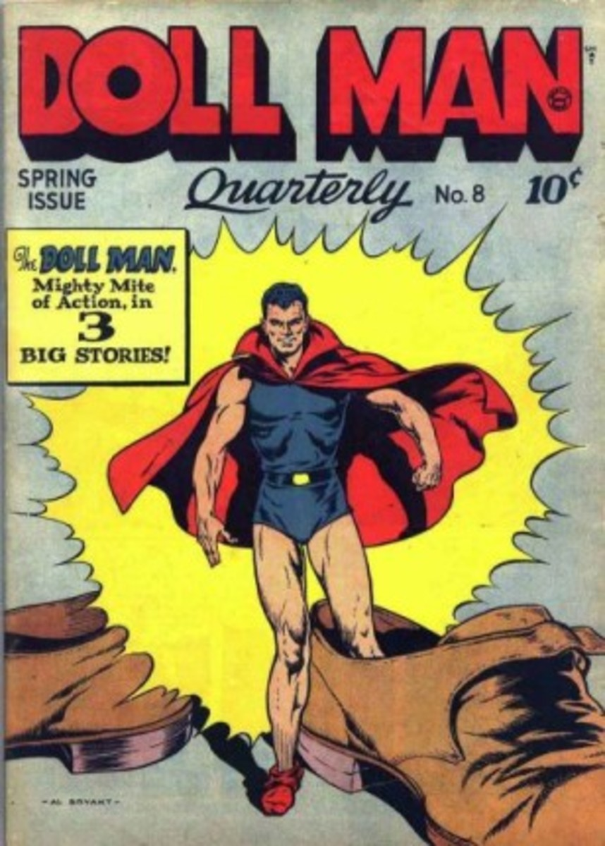 Silly Superhero Names Of the 1930s And 1940s