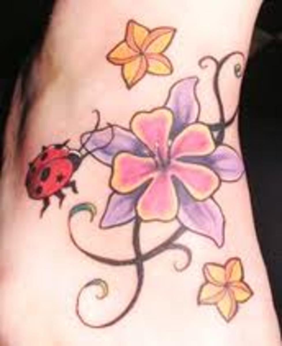 Ladybug Tattoos And Ladybug Tattoo Meanings-Ladybug Tattoo