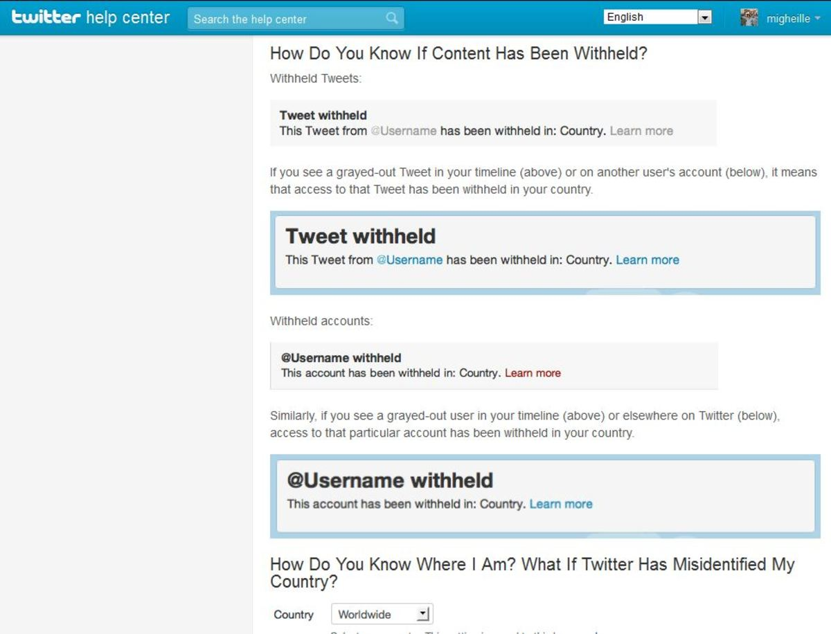 The incoming look of the Twitter censorship as we shall seen in the future