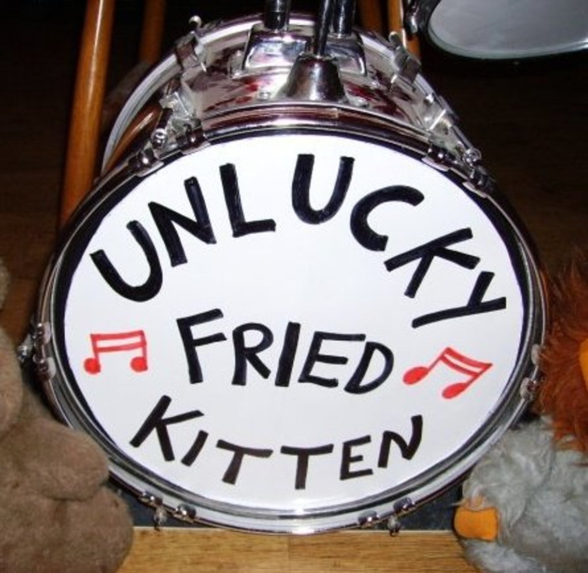 Lots of UFK songs start with a drumbeat