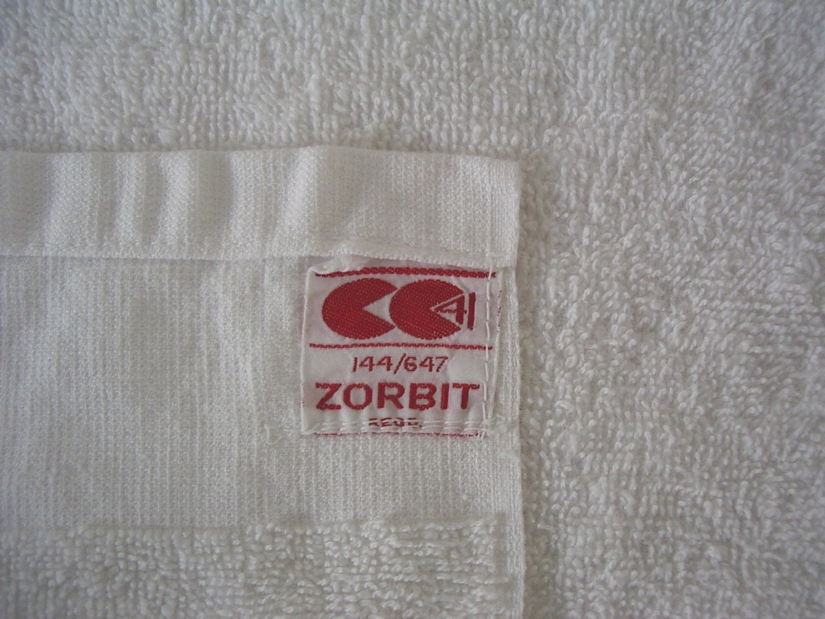 A 72 year old Utility Towel from WWll, Britain.