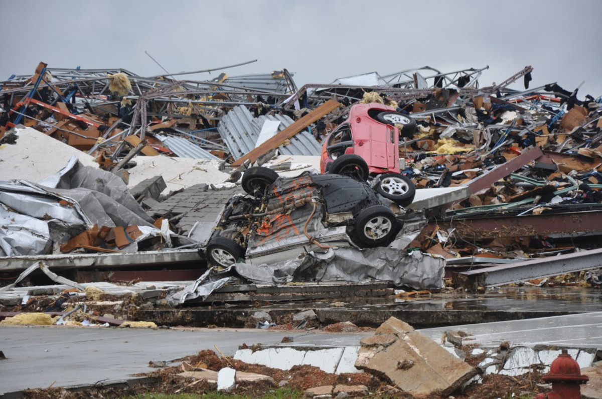 HACKLEBURG ALABAMA AFTER TORNADO IN 2011 KILLED 18 PEOPLE