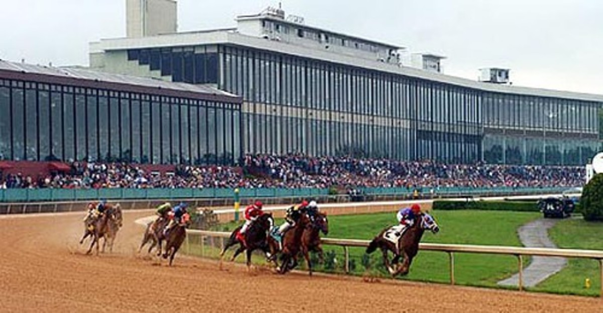 OAKLAWN HORSE RACING TRACK IN HOT SPRINGS ARKANSAS