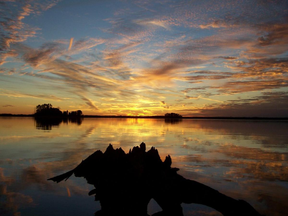 LAKE HARTWELL (ANDERSON SOUTH CAROLINA)