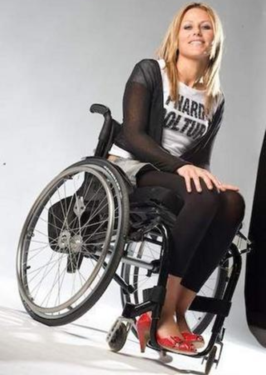 Driving as a Paraplegic with a Spinal Cord Injury using Drive Controls
