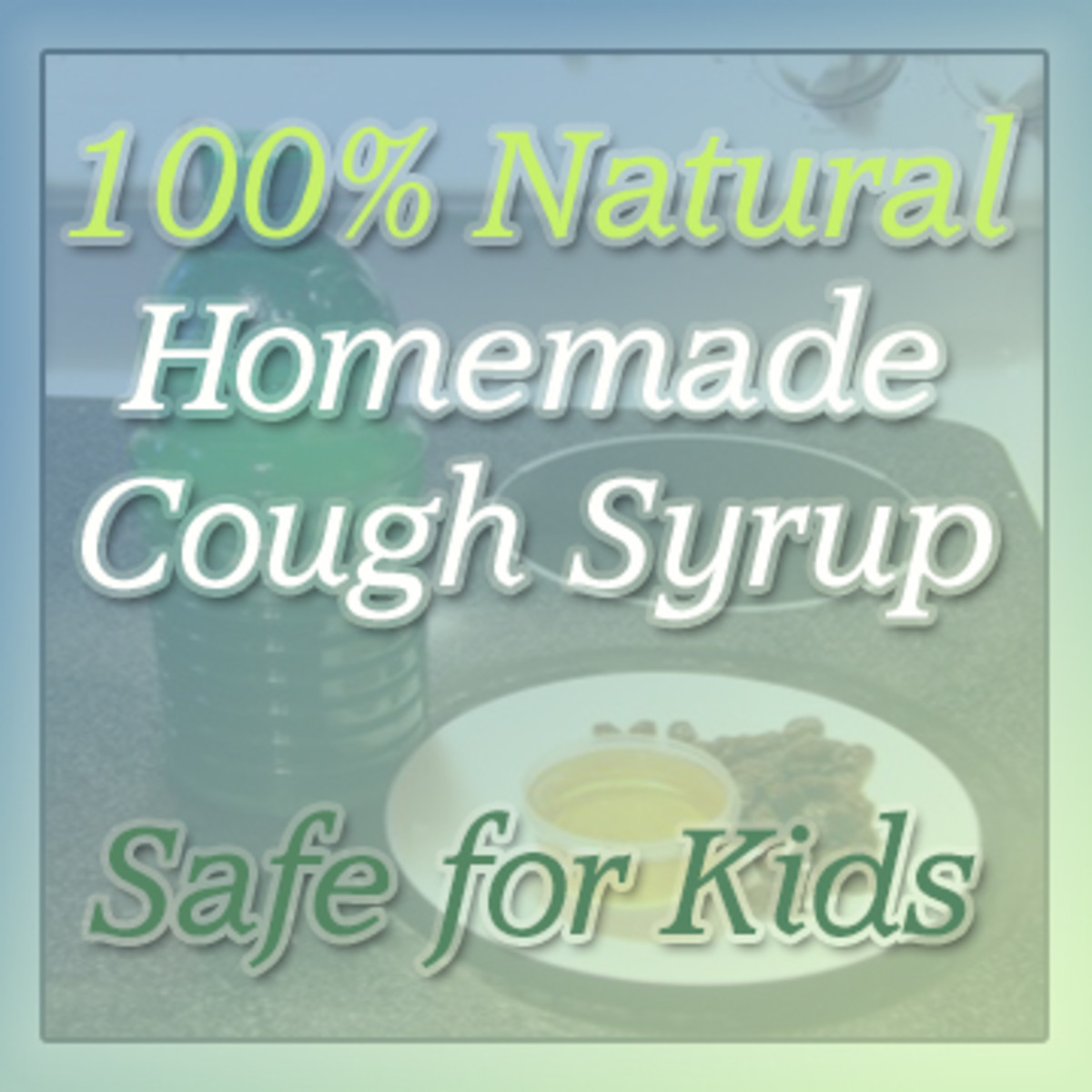 Learn to make natural, effective cough syrup safe for kids 1+ up.