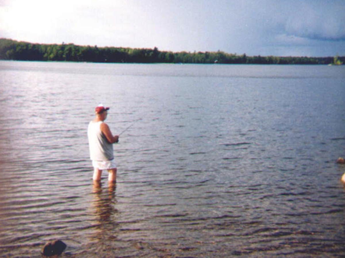 Fishing in Bob's Lake