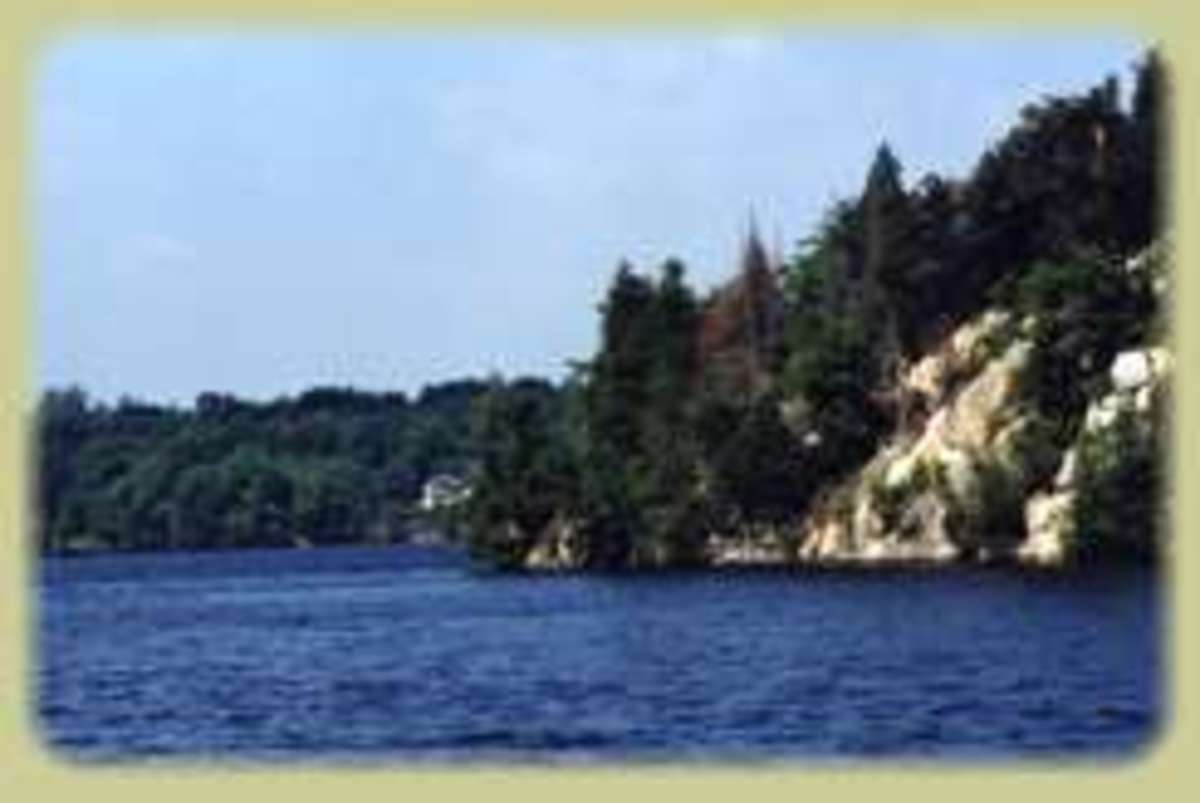Visiting Bob's Lake In Ontario Canada