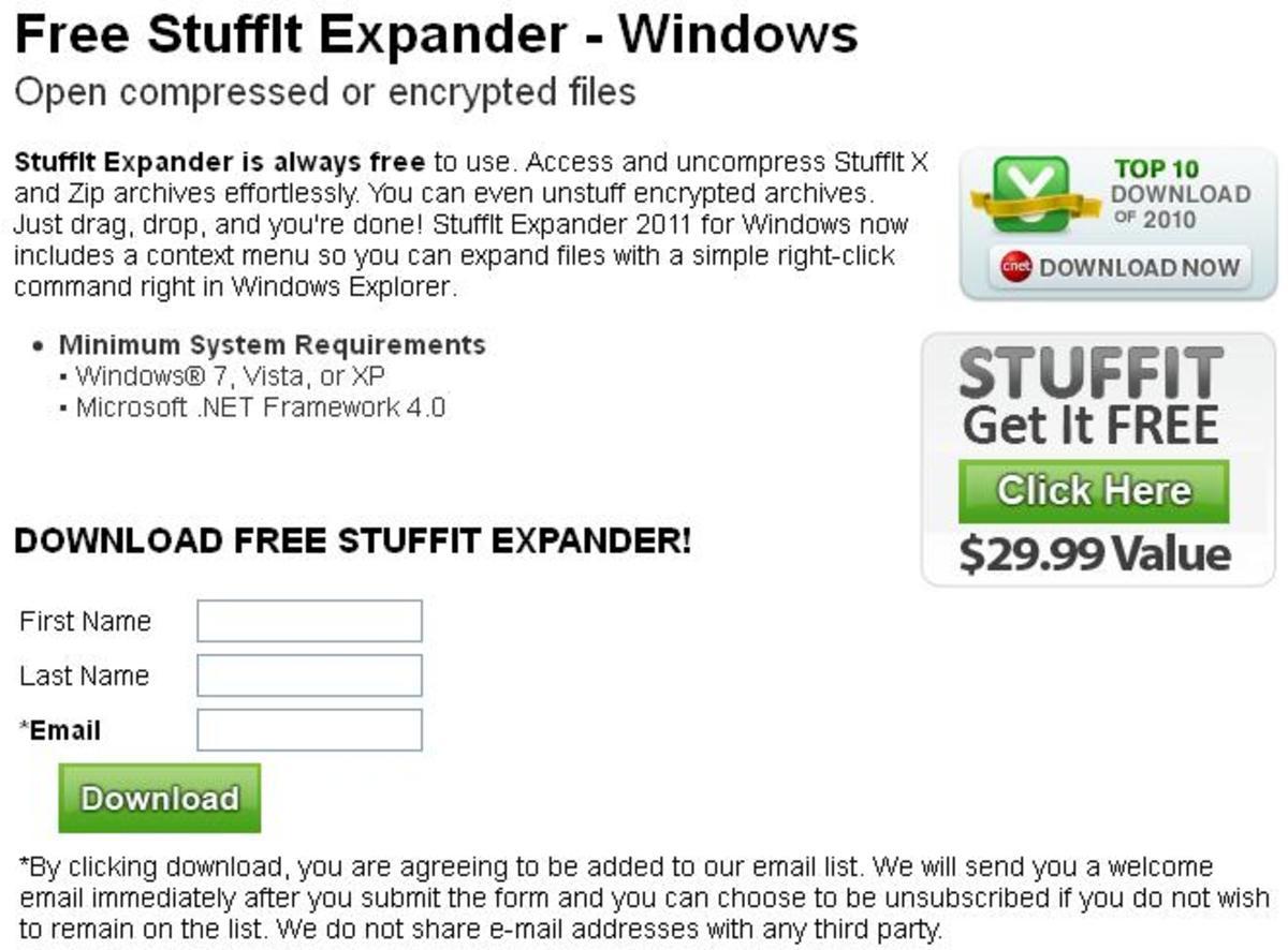 Free Stuffit Expander Windows Vista - Grubdicesali