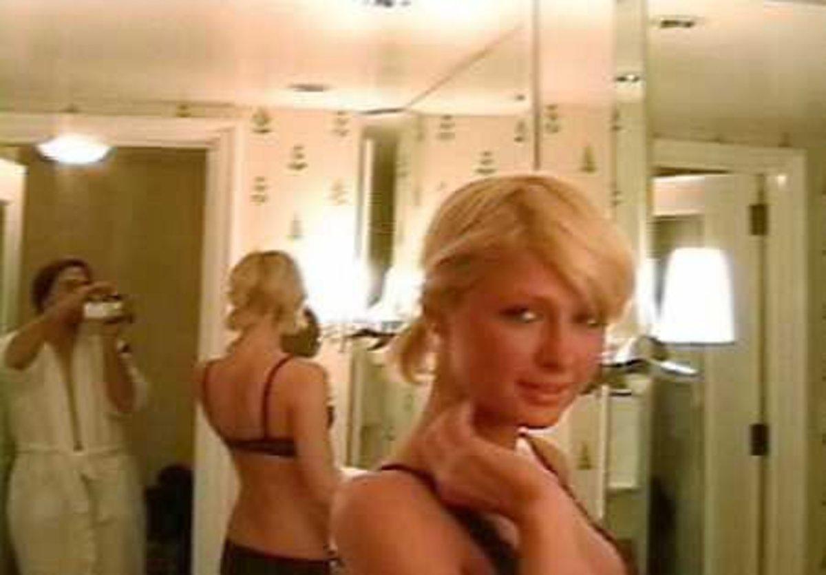 Paris Hilton in her sex tape