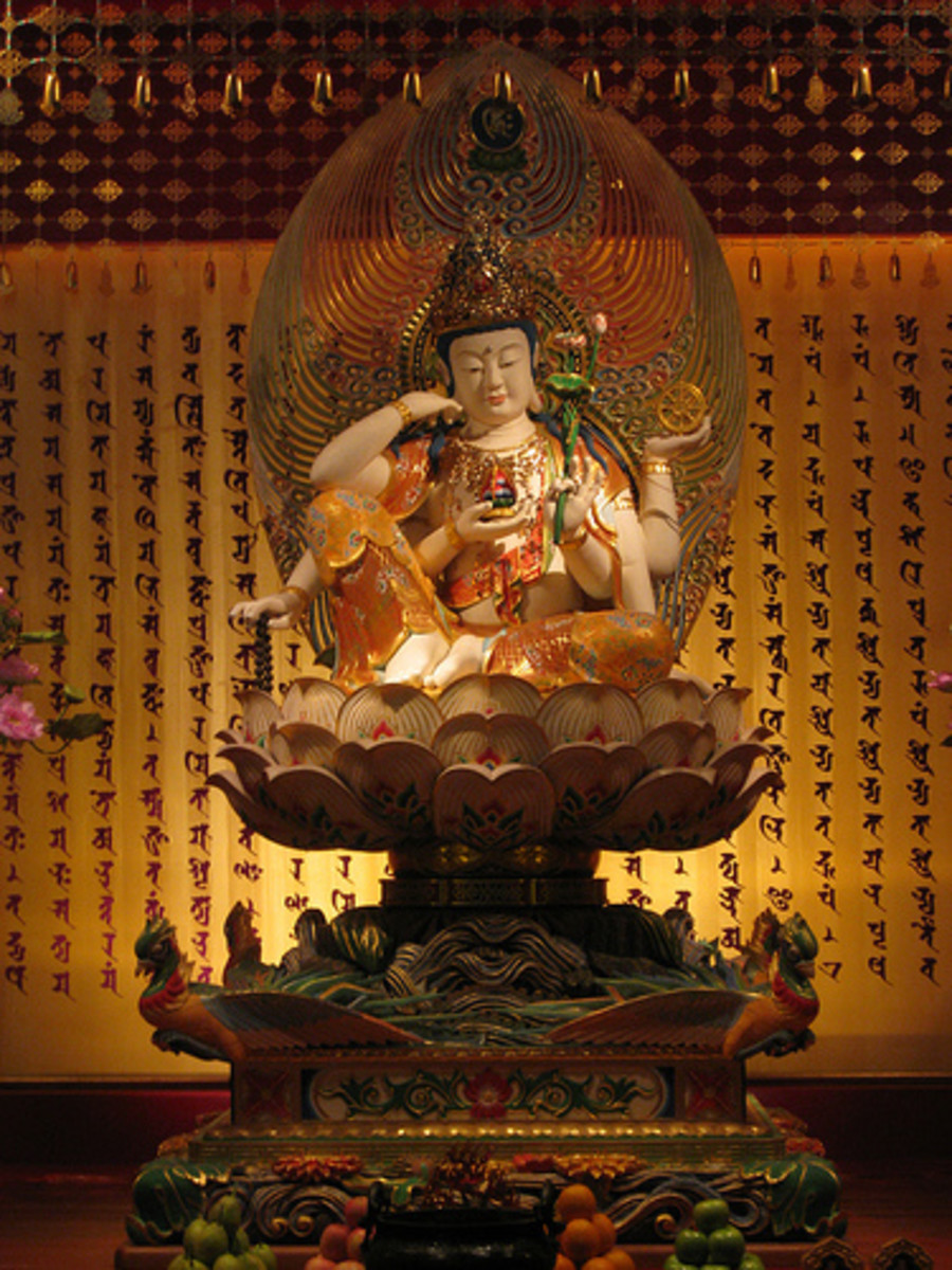 Chinese Folk Belief: Guan Yin Opens Treasury
