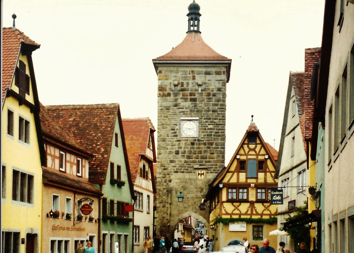 Sieber's Tower in Rothenburg