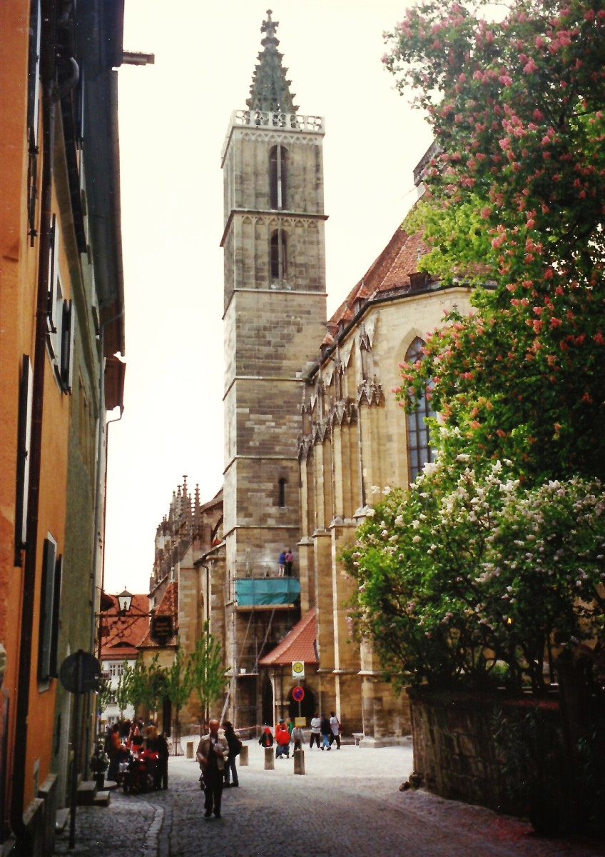 St. Jacob's Church (Jacobskirche) in Rothenburg