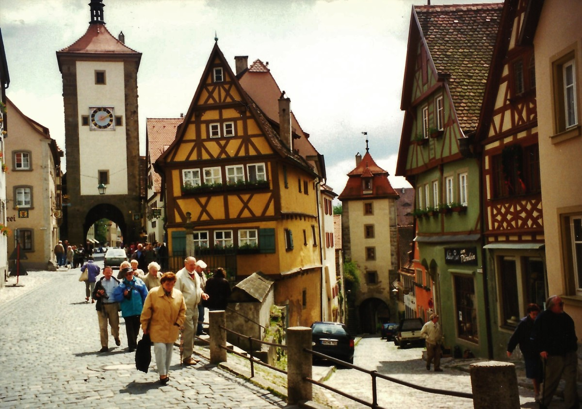Photos of Rothenburg, Germany - Historic Medieval City with Defensive Walls
