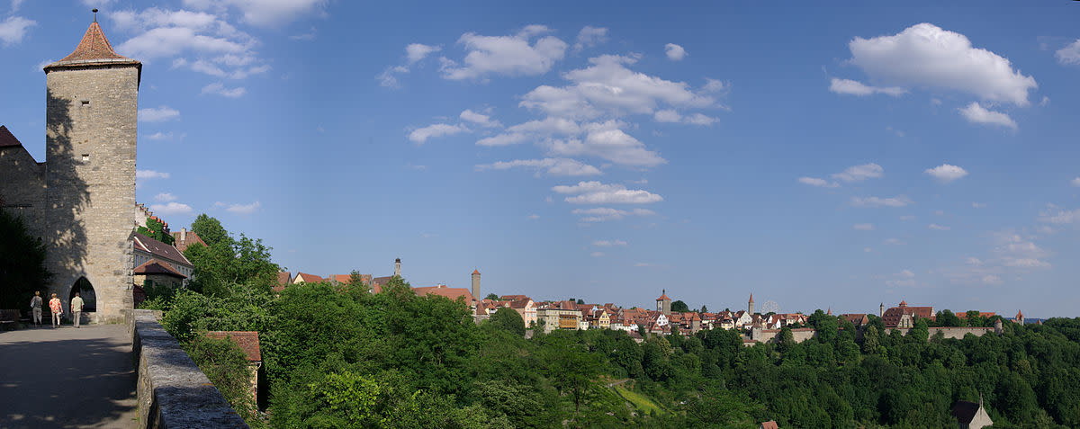 Panorama Rothenburg ob der Tauber