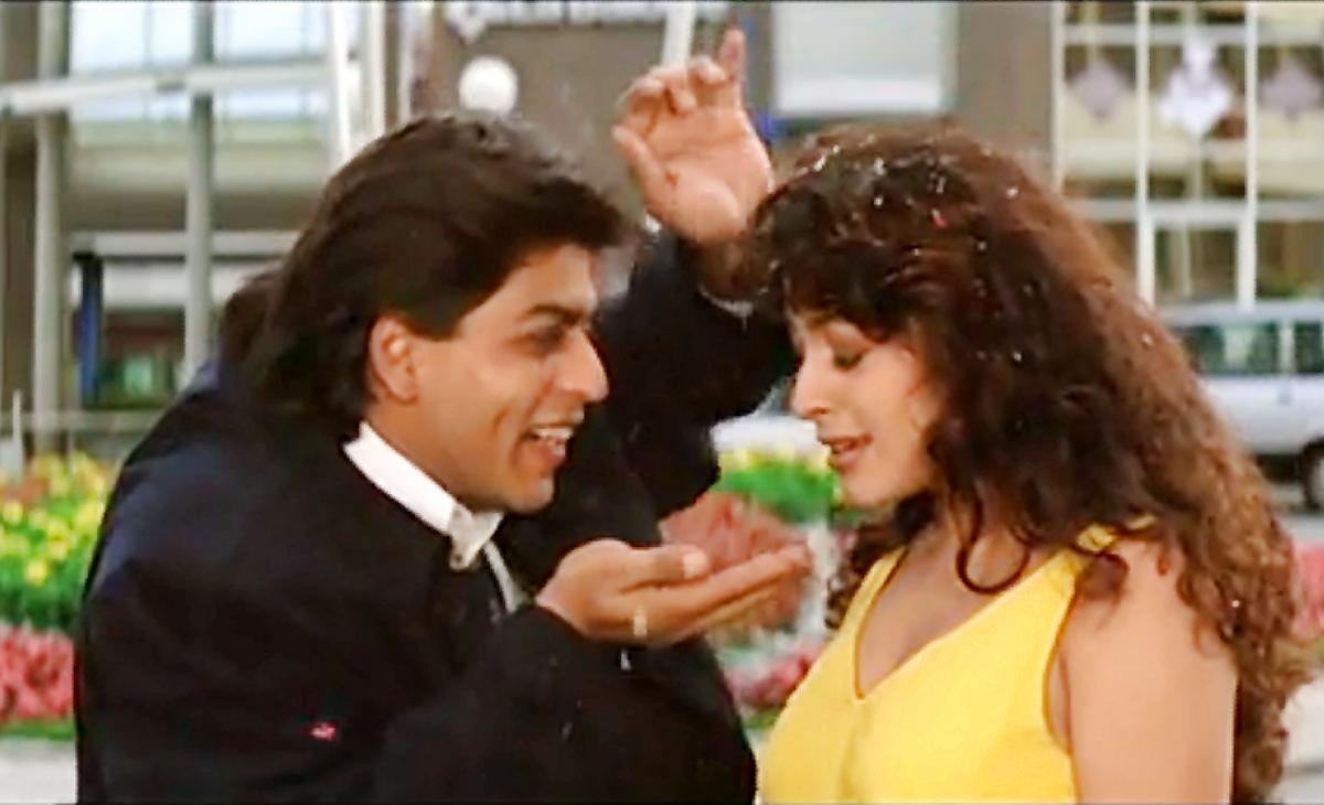 A romantics comic number of Shahrukh Khan