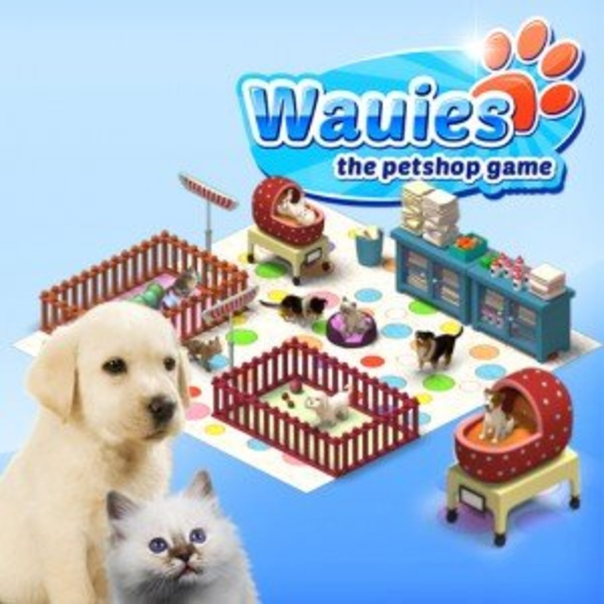 Wauies - The Pet Shop Game