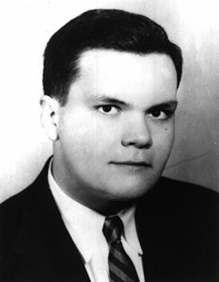 John Kennedy Toole, author of A Confederacy of Dunces