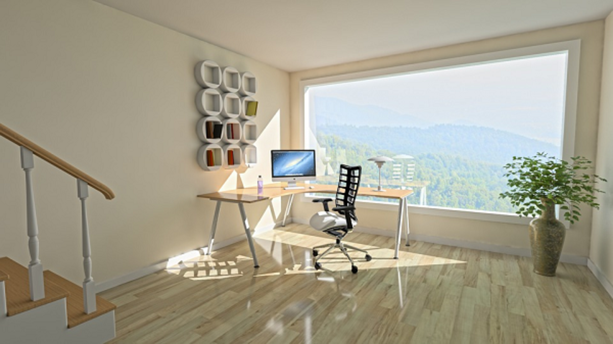 Notice the breathtaking view of mountains in this high-rise apartment. It will certainly be a dream residence to live in.