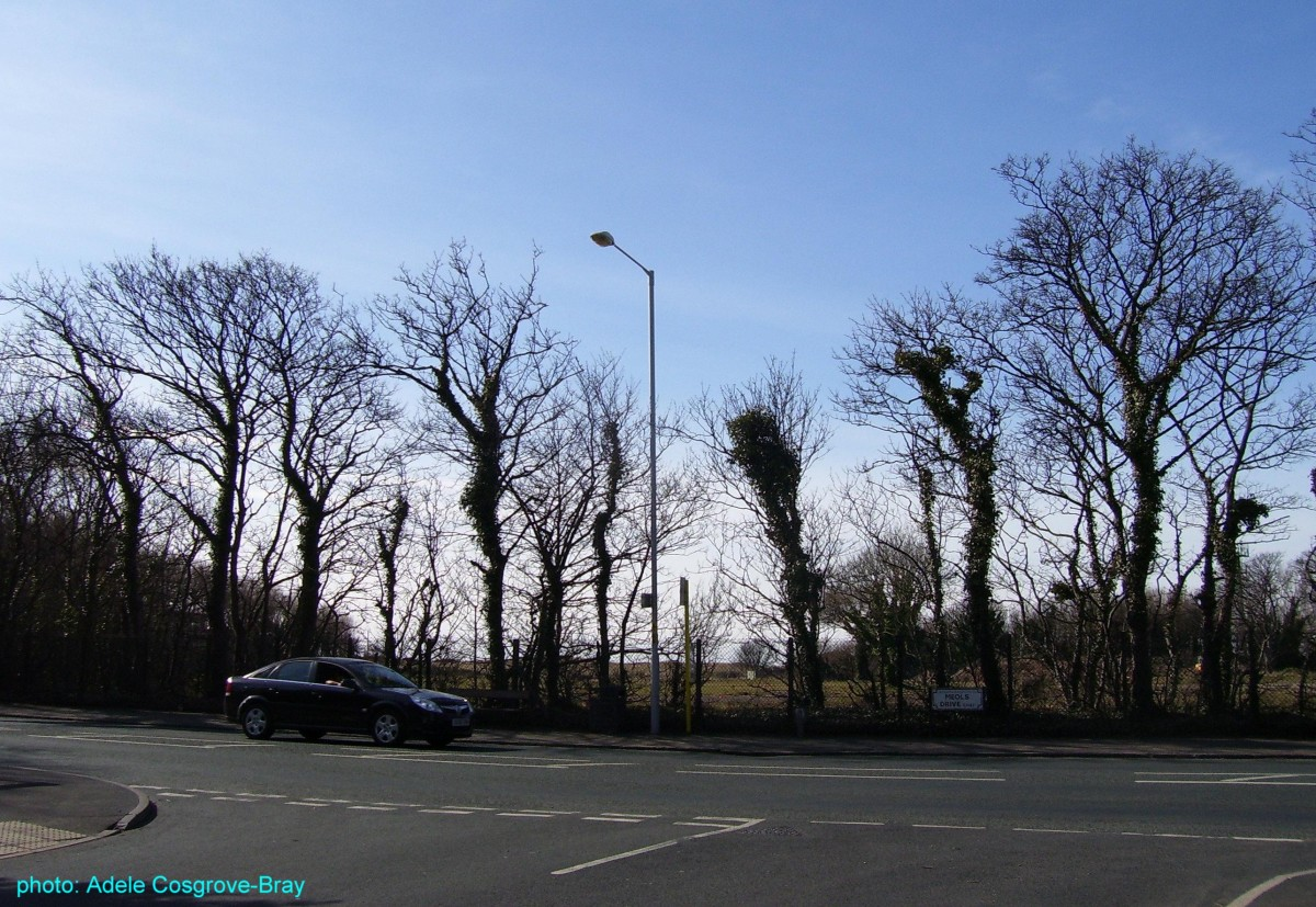 The Meols Drive/Graham Road junction.