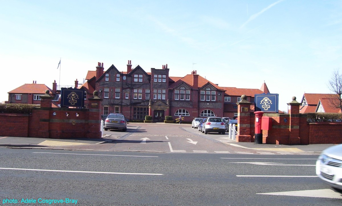 Royal Liverpool Golf Club from Meols Drive