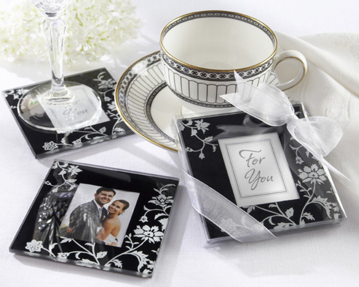 Timeless Traditions Coasters from Wedding Favors Unlimited