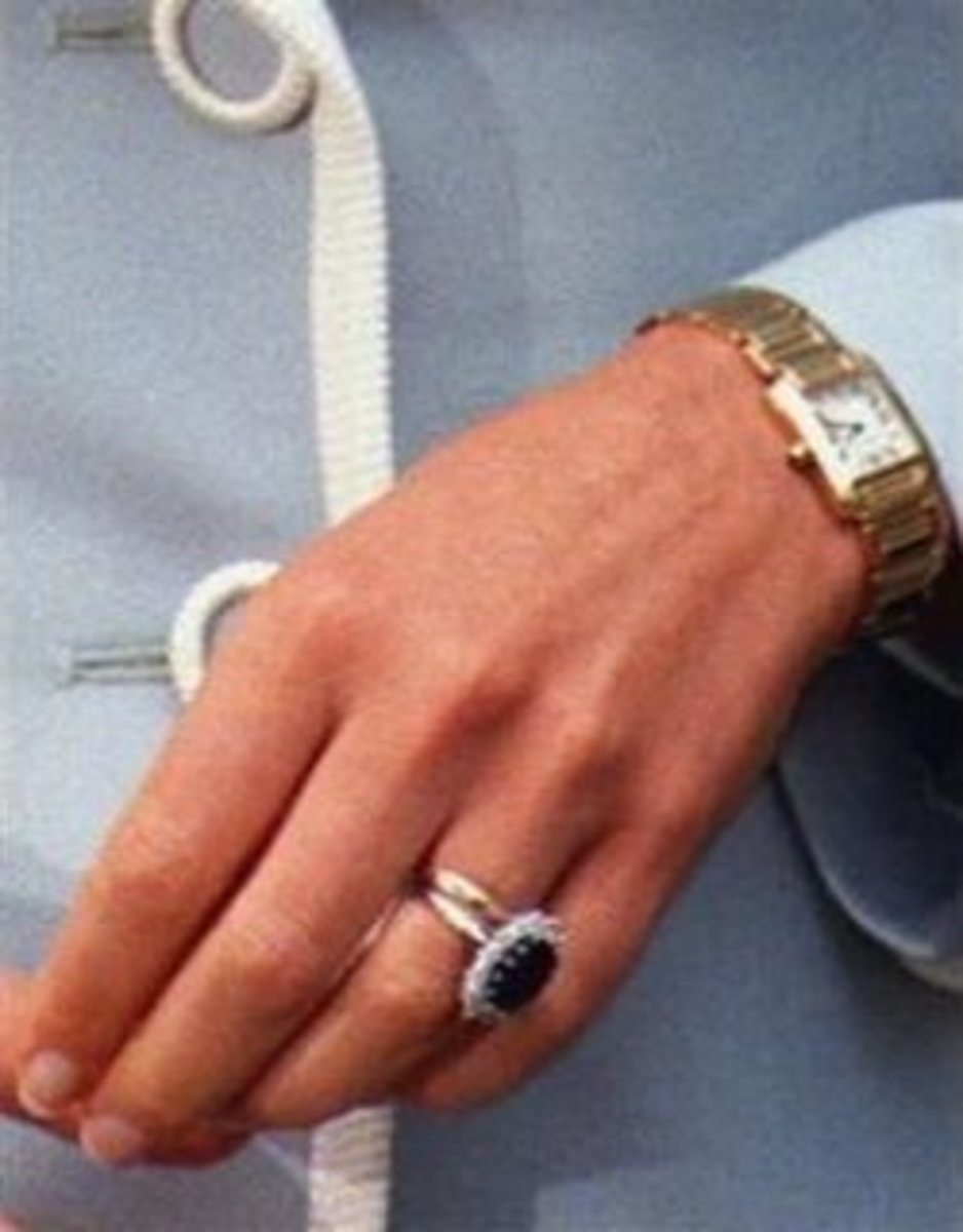 Princess Diana's iconic engagement ring