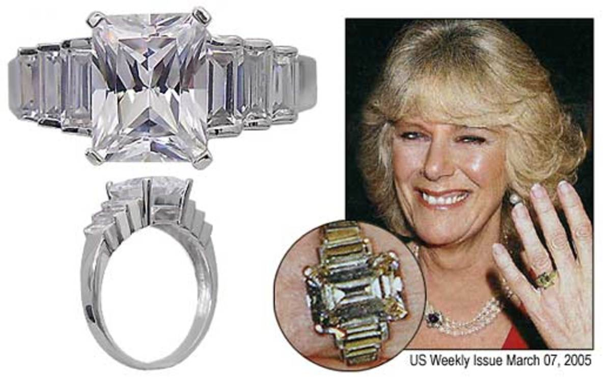 Camilla, Duchess of Cornwall's engagement ring