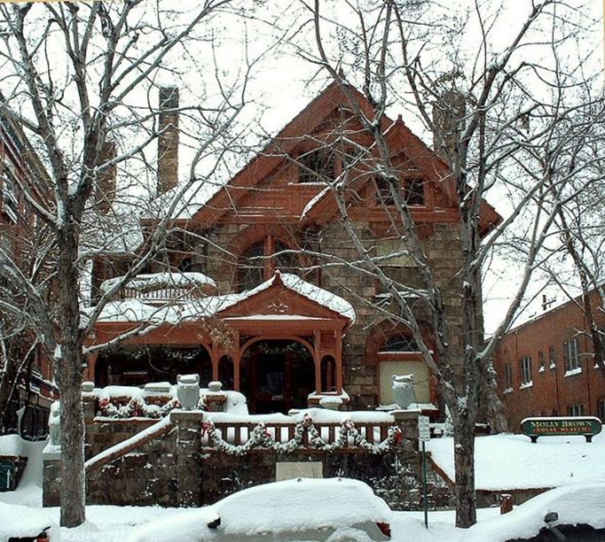 The Molly Brown House in Denver, Colorado --Wikimedia Commons