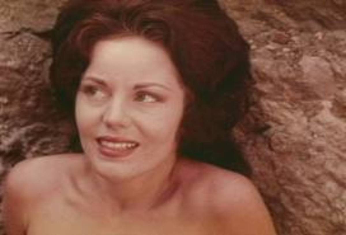 Actress Marilyn Manning as Roxy in Eegah!
