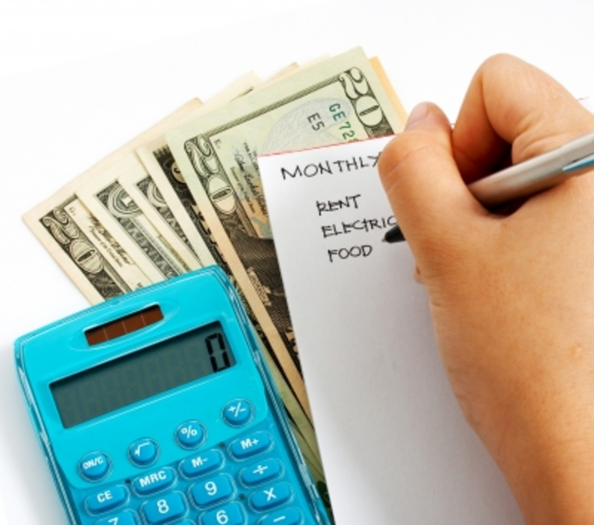 Start by making a list of your expenses.