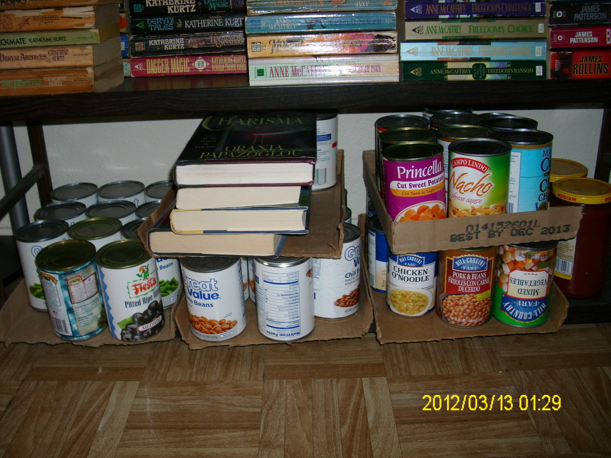 More food and some books! :)