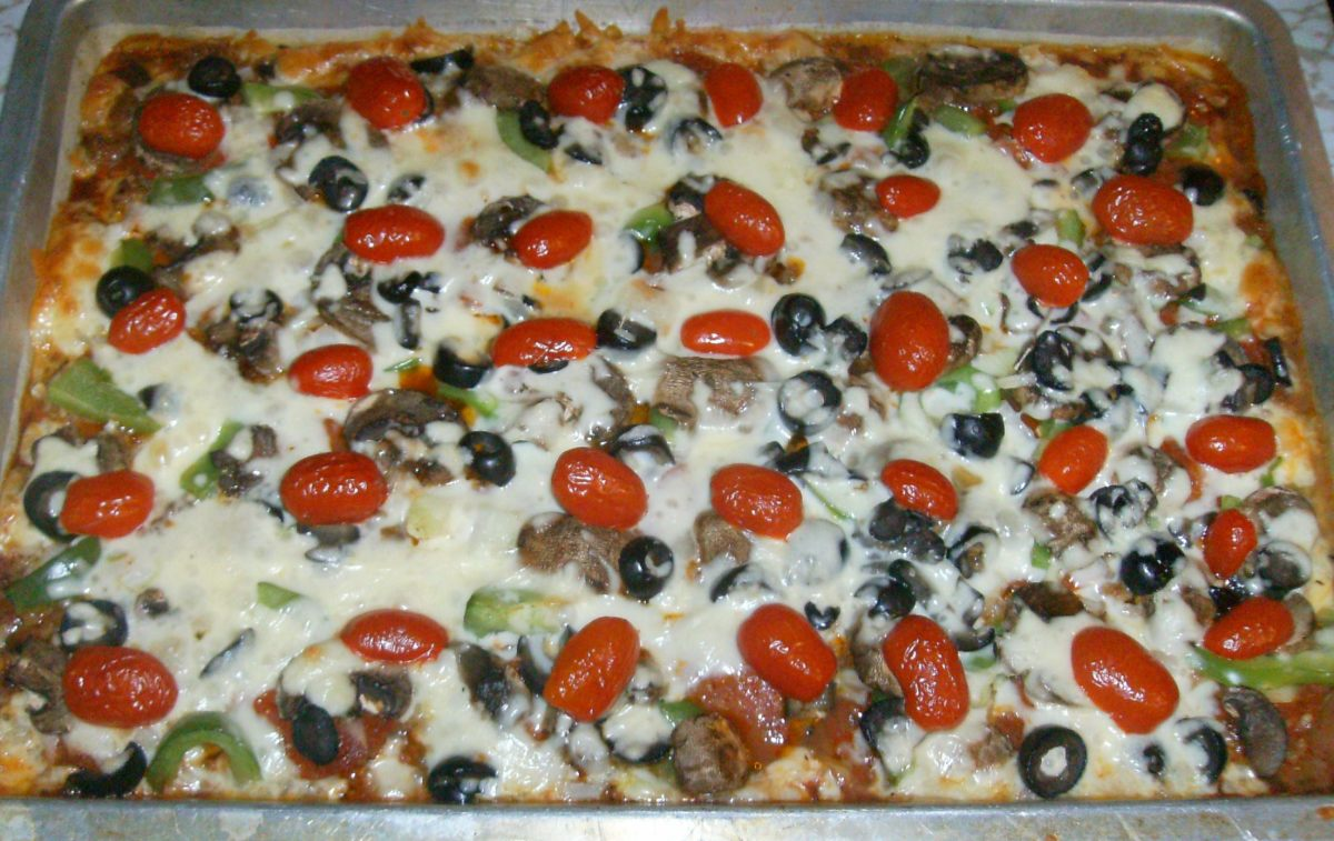 Best Homemade Supreme Pizza Recipe with Easy Crust and Sauce - Kids Cook Monday