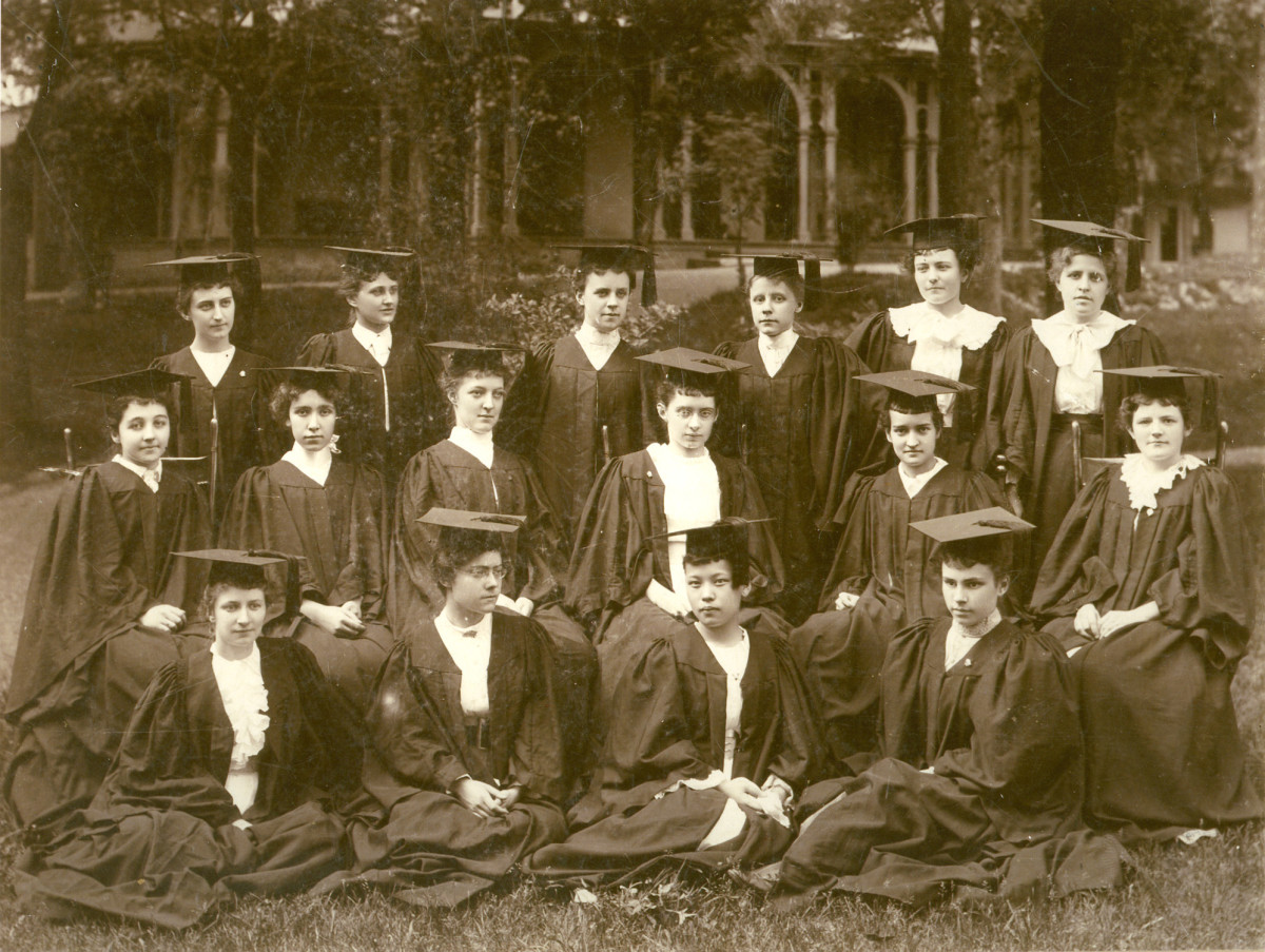 Wilson College Yearbook Photo, class of 1894