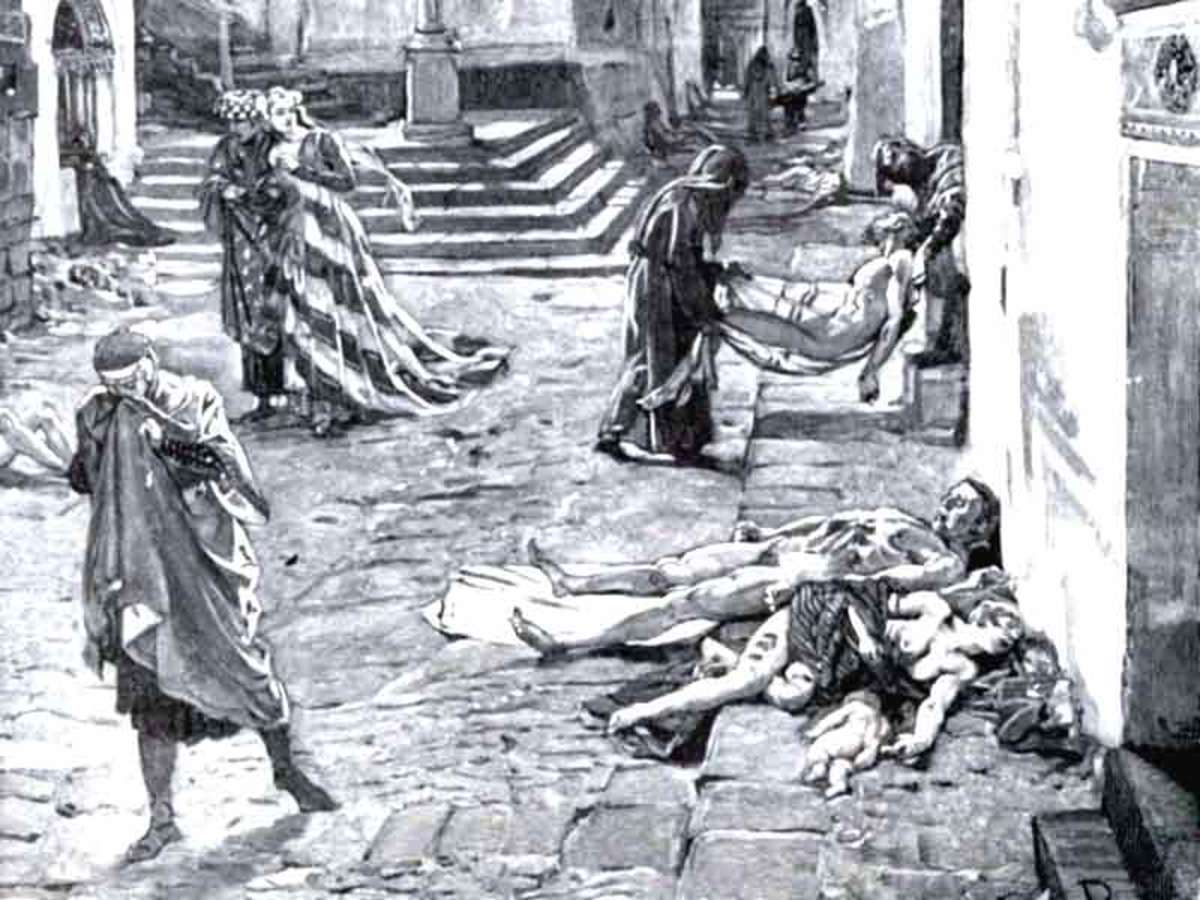 The Plague (Black Death) How natural products were used in the Medieval Times to protect against the disease.