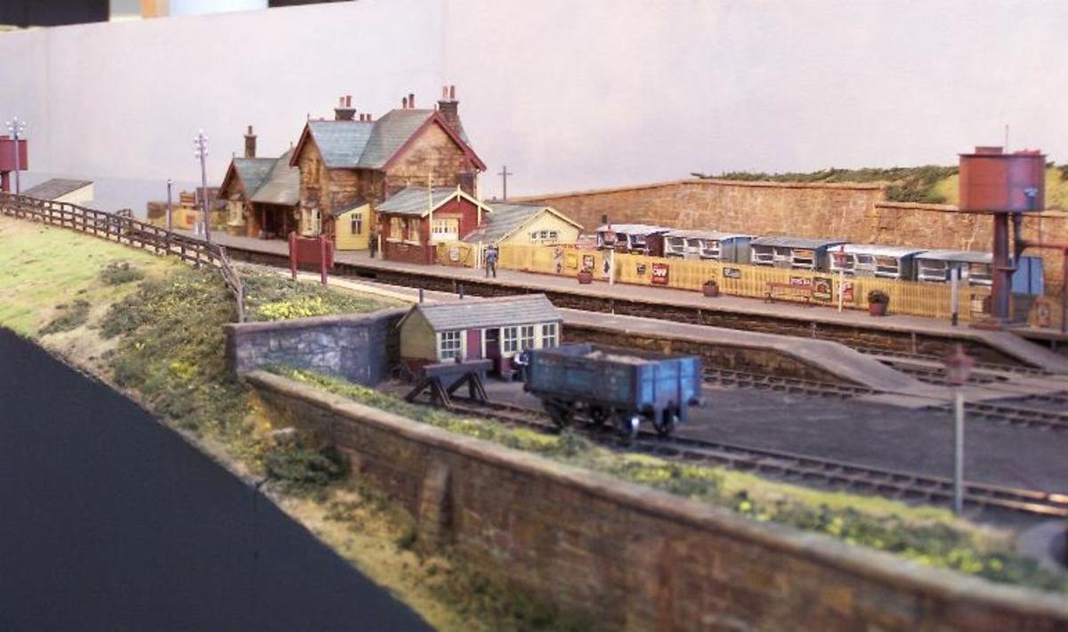 A scene of Bramblewick - I have copies of MRJ No.51, 1991, No.102, 1998, and No. 153 2004; there are at least another couple of editions that featured this handsome layout