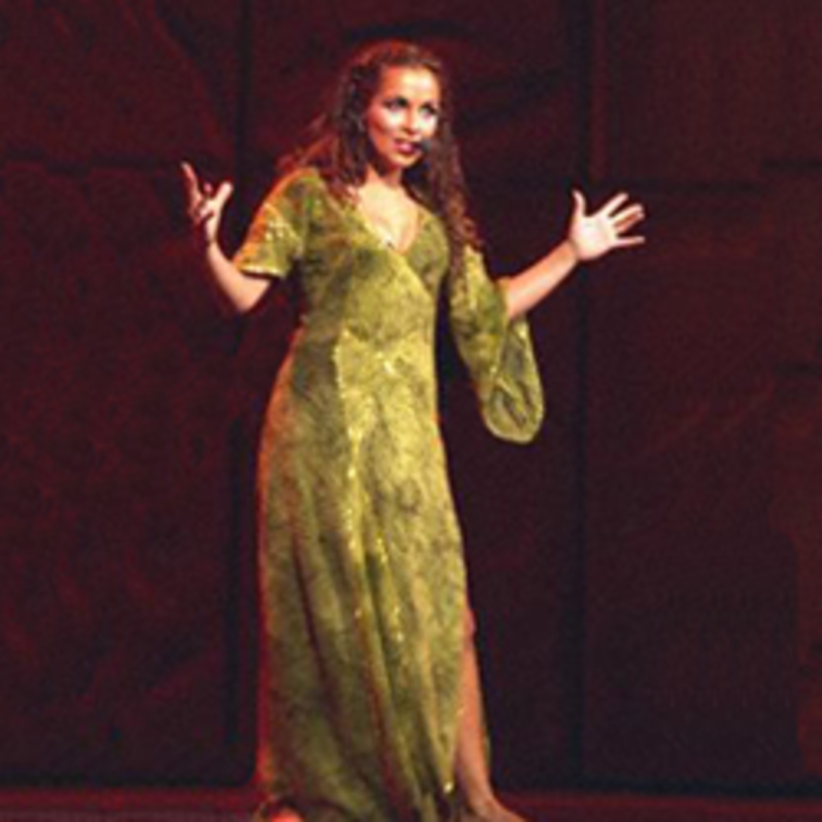 Esmeralda's Green Dress; Costumes of Notre Dame de Paris