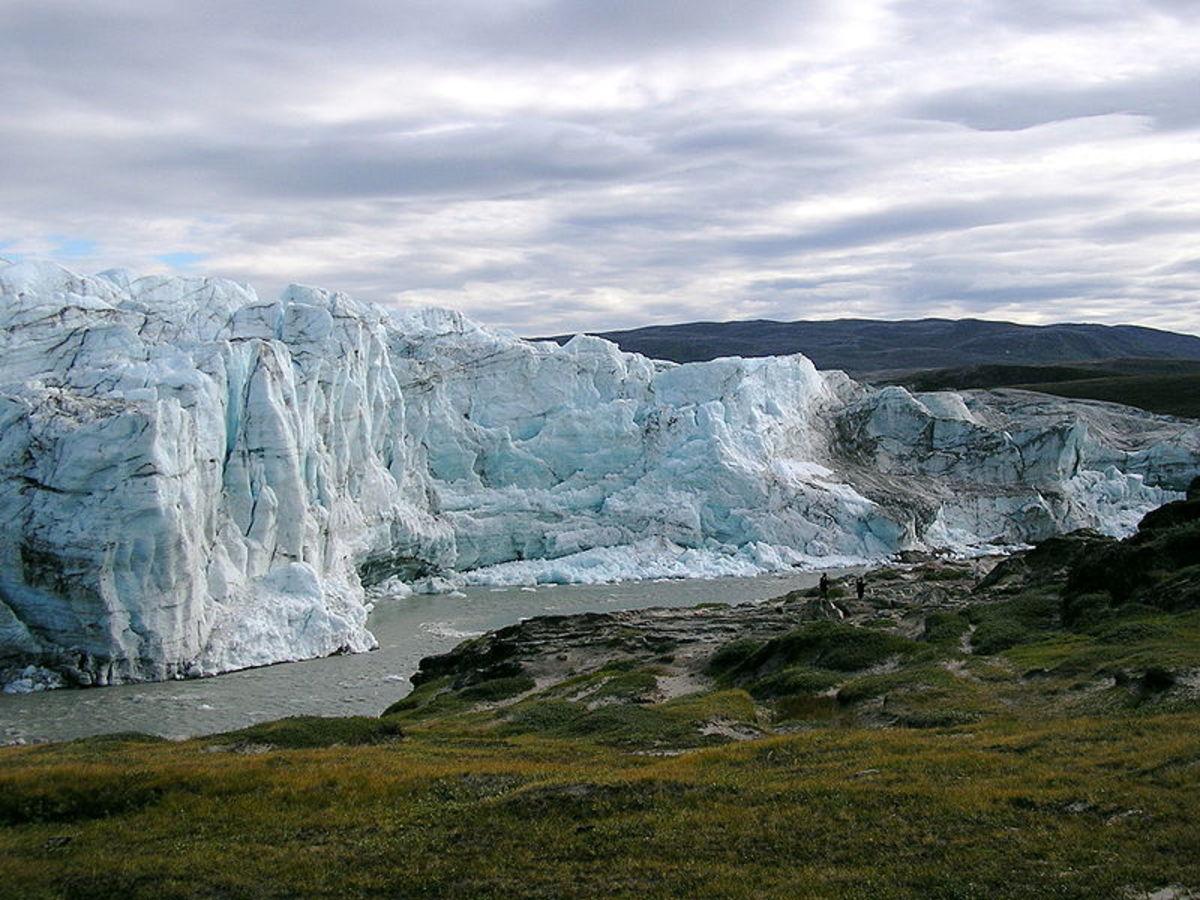 The Greenland Ice Sheet (Photo taken near Kangerlussuaq, Greenland)
