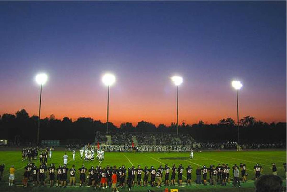 Friday Night Lights in Small Town, USA